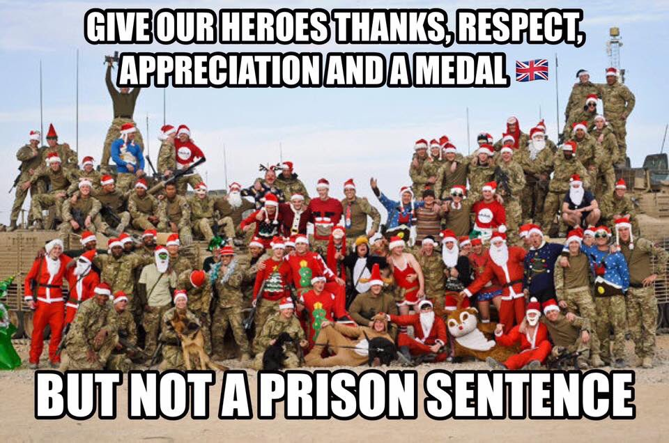 @justiceforBigAl #heroes #thanks #respect #freedom #medal #bigal bringbigalhomeforxmas  #justice https://t.co/M8opSdkyx2