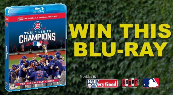 Giving away another #Cubs Blu-ray tonight. Just RT this for a chance to win!  https://t.co/34YhR4HLQg https://t.co/SgA2PJM45d