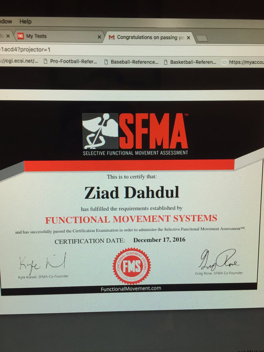 Sfma on topsy took my lazy ass a month a half to sit and do this but officially sfma level 1 certified sfmarehab functionalmvmt httppicitter31arwpr1e7 1betcityfo Images