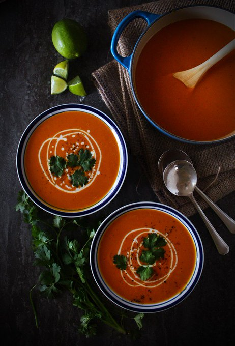 Yam And Coconut Soup