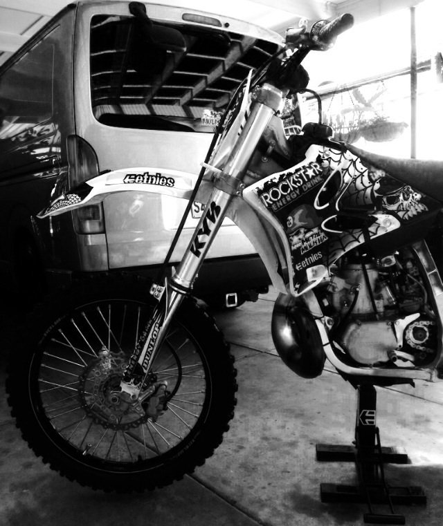 Dustin Off The YZ 2 FITTY