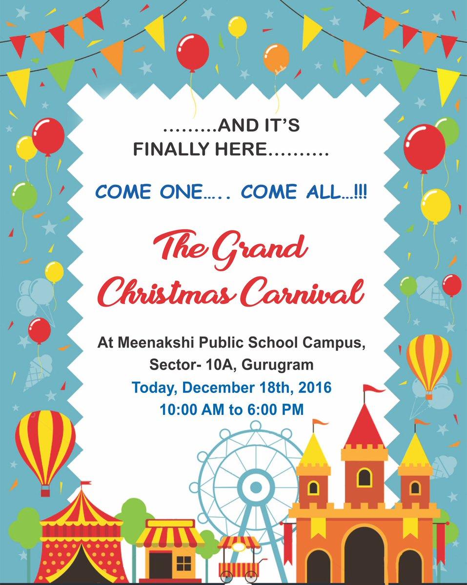 Meenakshi Public School On Twitter The Grand Christmas