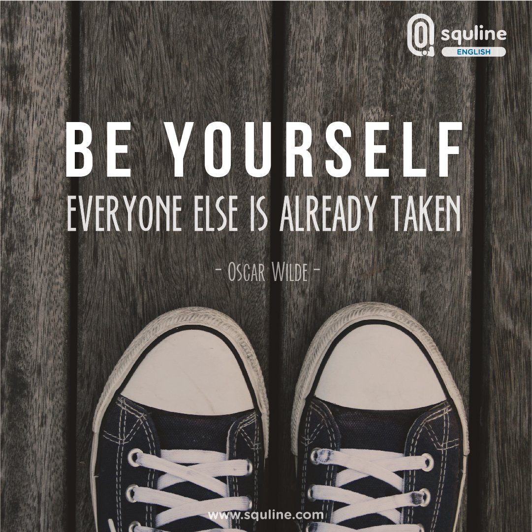 cakap בטוויטר jadilah diri sendiri jadilah nyaman dgn dirimu