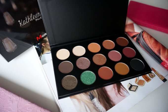 MORPHE BRUSHES X KATHLEEN LIGHTS EYESHADOW PALETTE REVIEW + SWATCHES