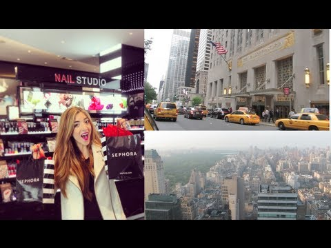 Huge Sephora & US Drugstore Haul +NYC Vlog! #LoveYaAmelia #MakeUp #Beauty