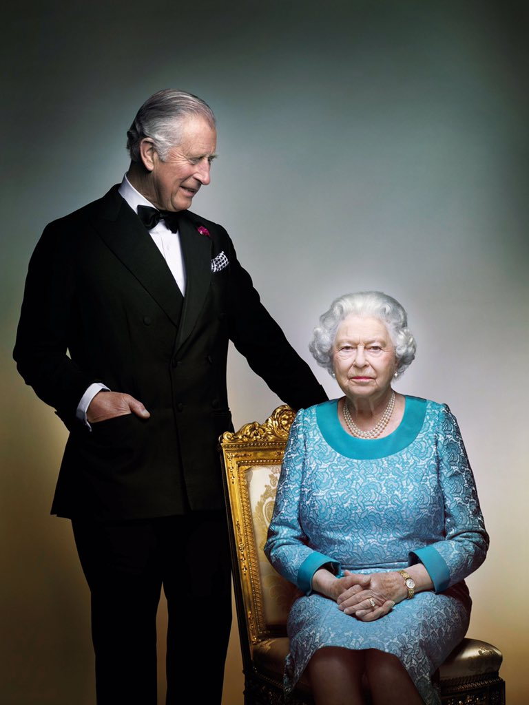 نتيجة بحث الصور عن ملكة بريطانيا وتشارلز