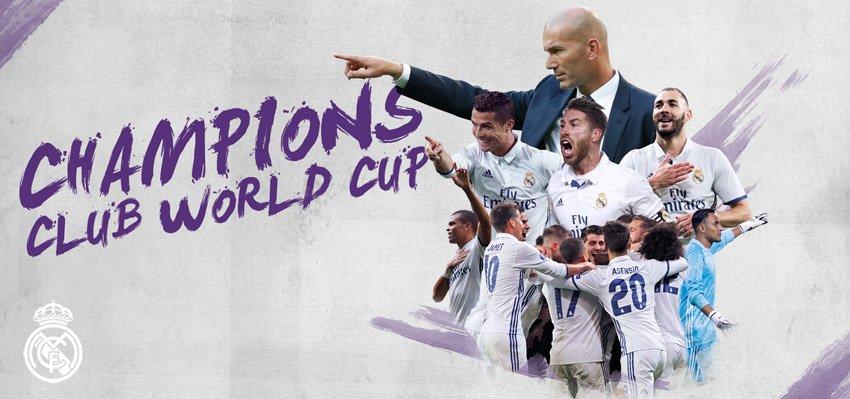 Mundial De Clubes: #rmcwc ¡somos Campeones Del Mundial De Clubes! #halamadrid