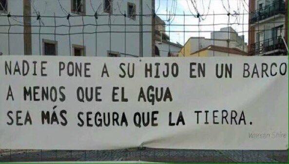 Así de claro y así de duro. #DíaInternacionaldelMigrante