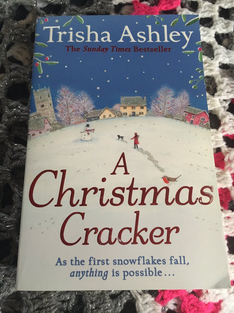 Now reading #AChristmasCracker by @trishaashley