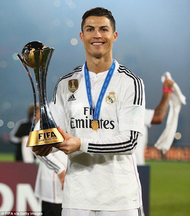 نتيجة بحث الصور عن رونالدو يفوز كأس العالم للأندية 2016