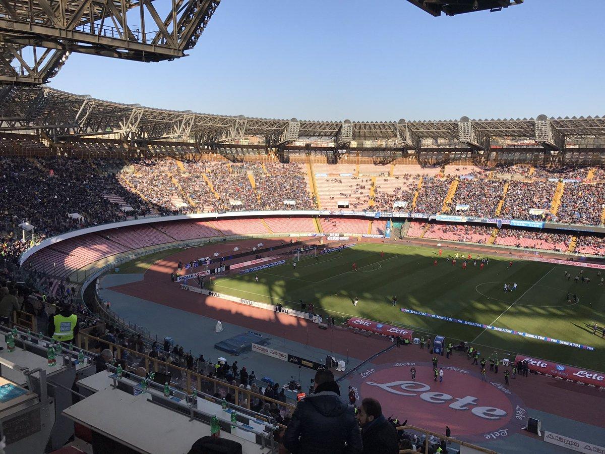 Salisburgo Napoli Hd: Napoli-Torino, Tifosi Sugli Spalti Allo Stadio