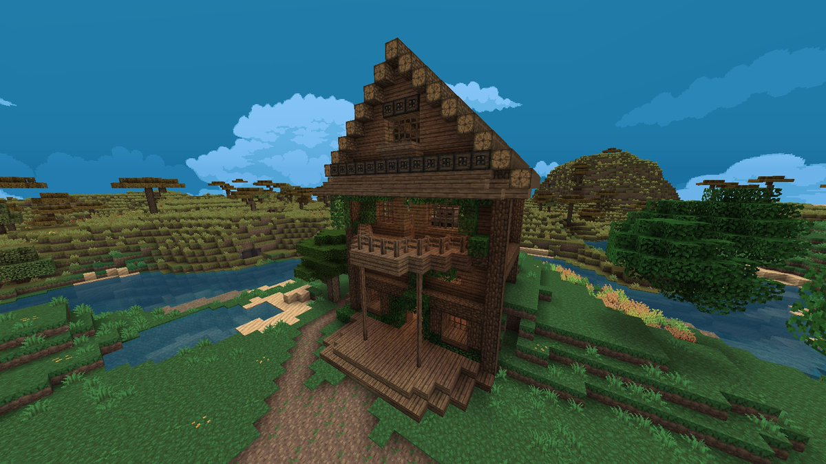 Minecraft Creations On Twitter Really Nice Minecraft House By Stunn22 Pixel Perfection Texture Pack