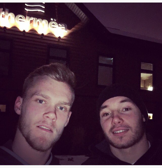 Thanks to @Thermeawinnipeg for taking care of me and @Marko_Dano on our day off! 🙏