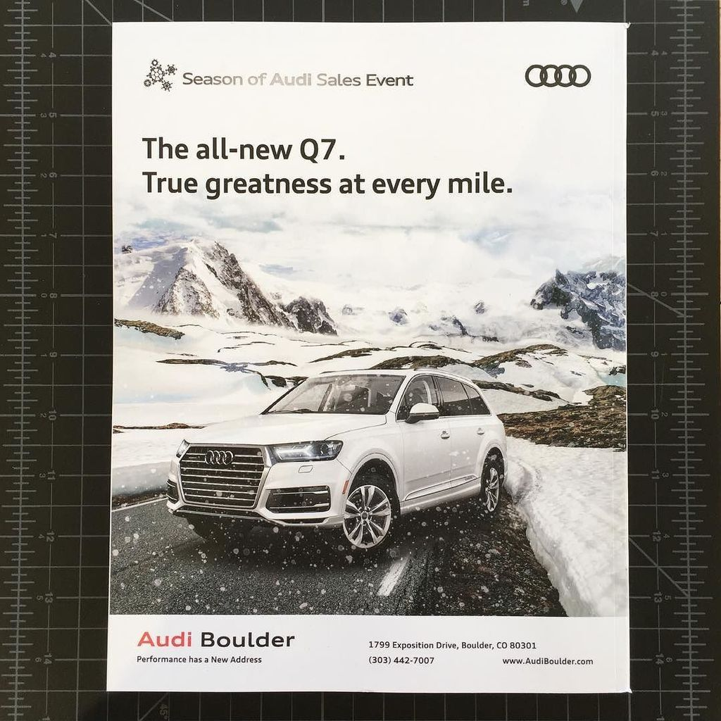 Emerson Stone On Twitter New Winter Ad For Audi Boulder Just Came - Audi boulder