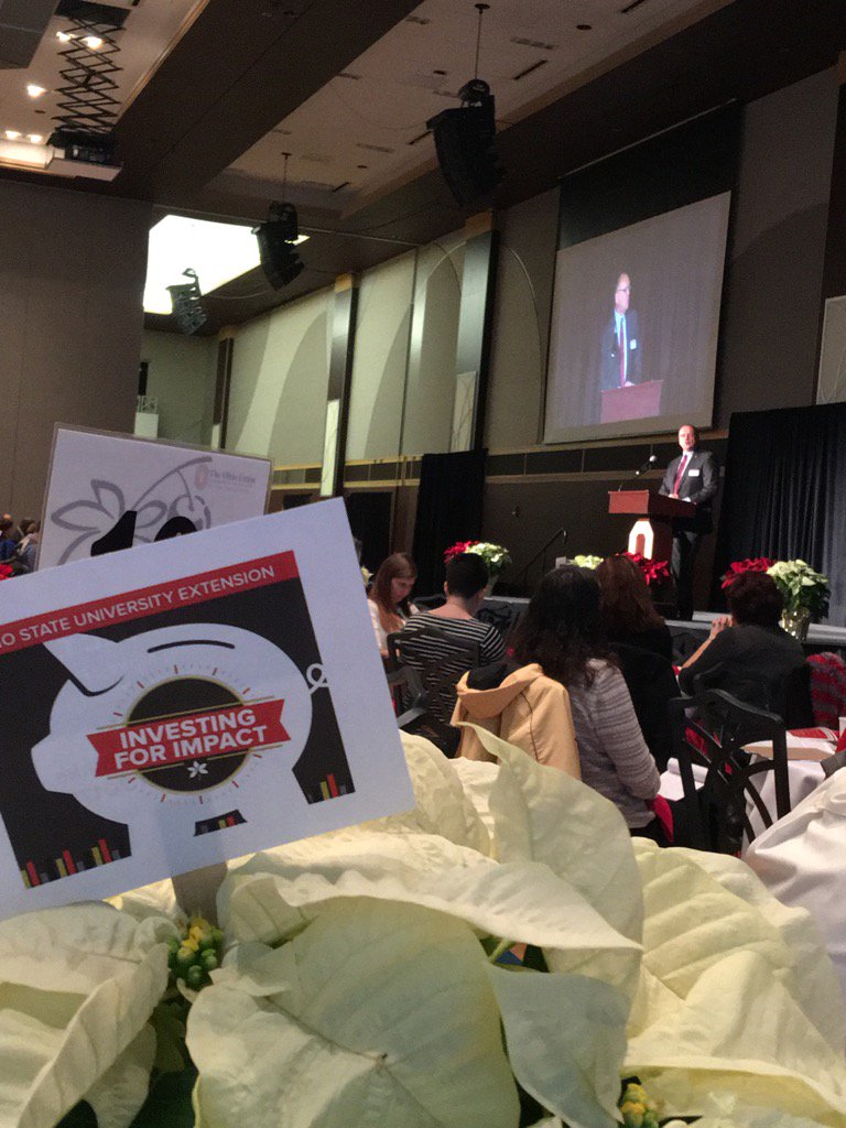 Dr Roger Rennekamp kicking off OSU Extension Annual Conference #osue2016 https://t.co/JusEw1zmxX
