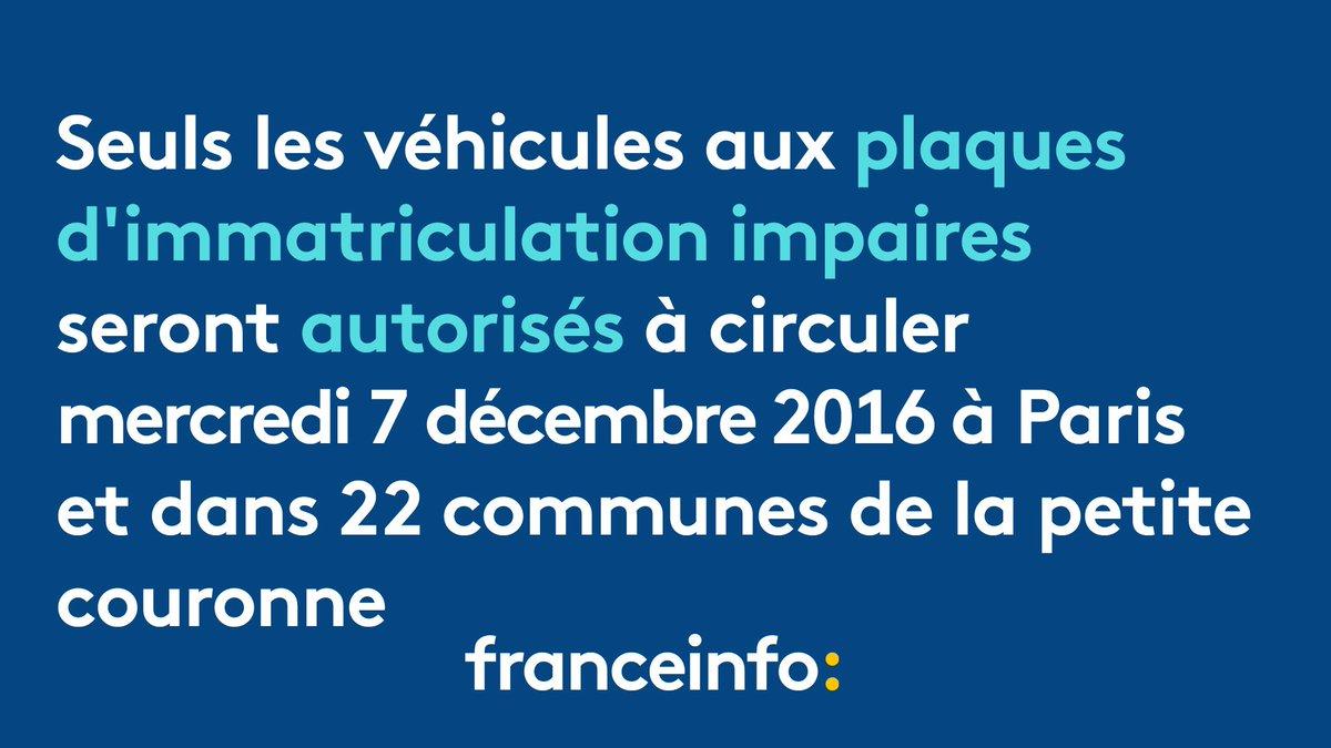 pollution la circulationalternee reconduite demain paris et dans 22 communes de la petite. Black Bedroom Furniture Sets. Home Design Ideas