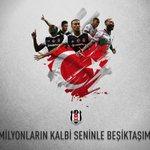 Bugün milyonlarca kalp #Beşiktaş için atıyor... Yü...