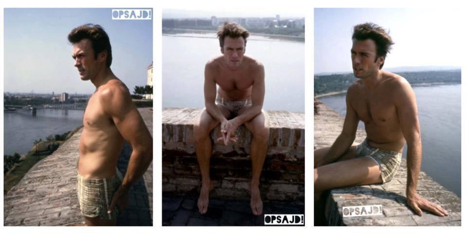 Klint Istvud na Petrovaradinskoj tvrdjavi tokom 1969. godine. #novosadski https://t.co/mbnf2Uz3Us