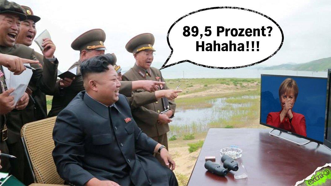 Währenddessen in Nordkorea #Merkel #CDUpt16