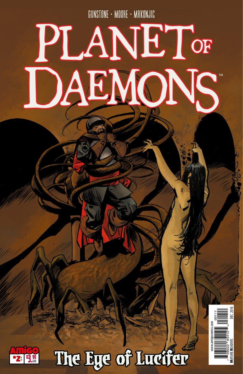 Image result for planet of daemons kevin gunstone comixology