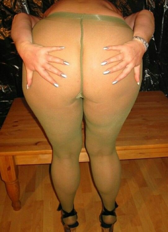 Ass bbw pantyhose