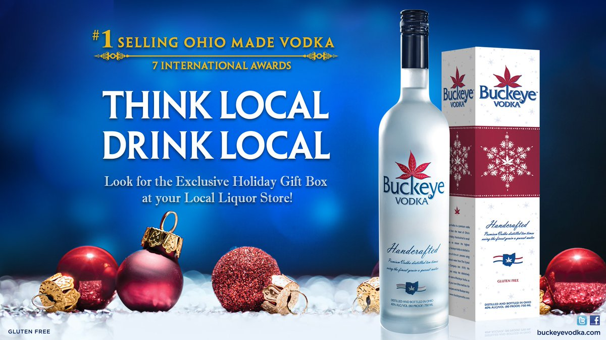 #Ohiospirits Remember to Think Local this #holidayseason https://t.co/IFc5G2kLHF