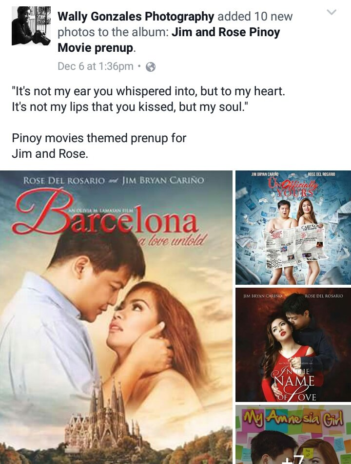 Prenup Shoot Pinoy Movie Theme F0 9f 92 8d