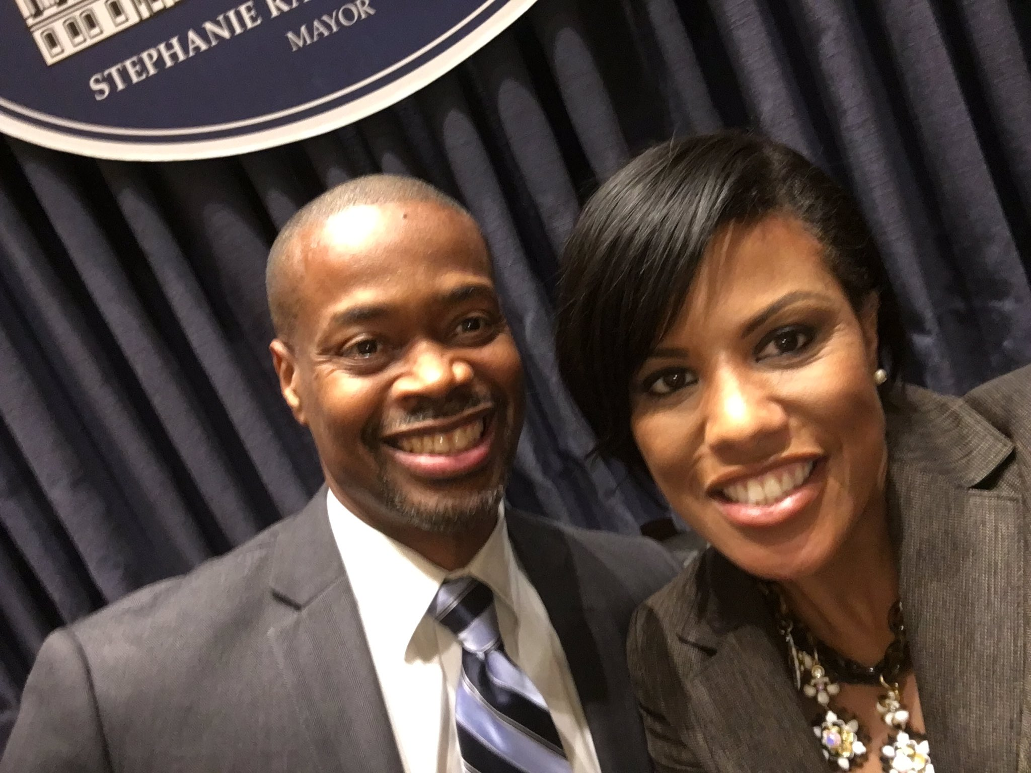 Mayor Catherine Pugh Sworn Into Office