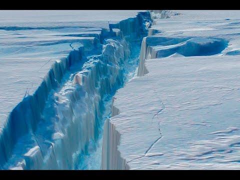 Misteriosa Crepa nel ghiaccio in Antartide - VIDEO