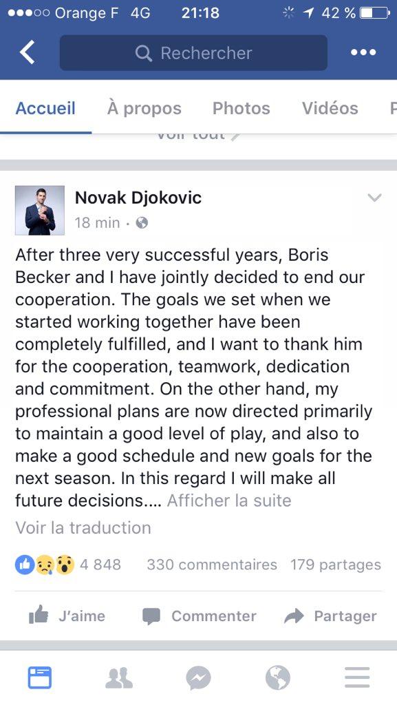 Novak Djokovic - Page 6 CzBPmgsW8AA4b7i