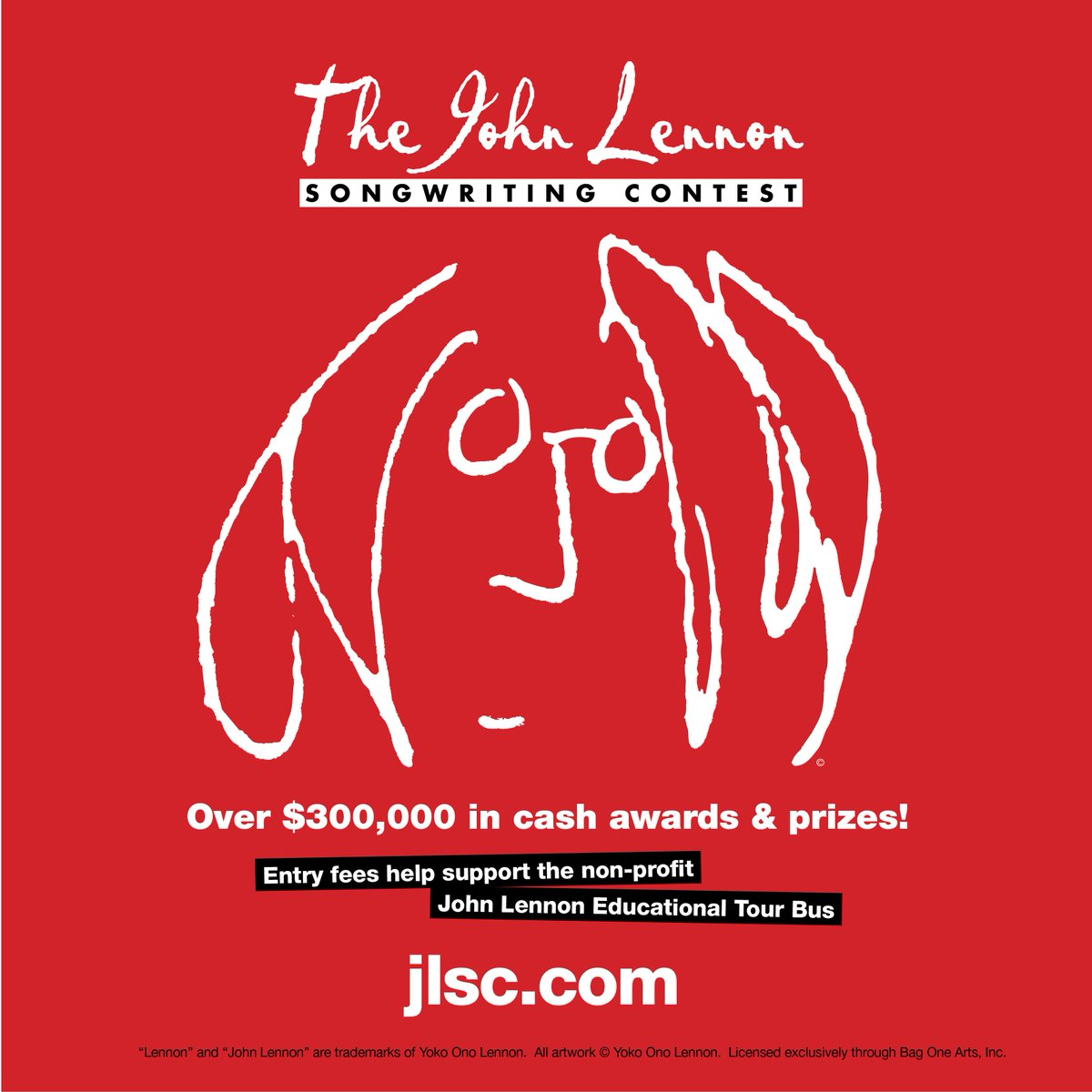 Tag a friend! Enter @thejlsc by 12/15, support @lennonbus! #JohnLennon #Songwriting #Contest https://t.co/X6lZBwGrnq https://t.co/dX6cTGJLnR