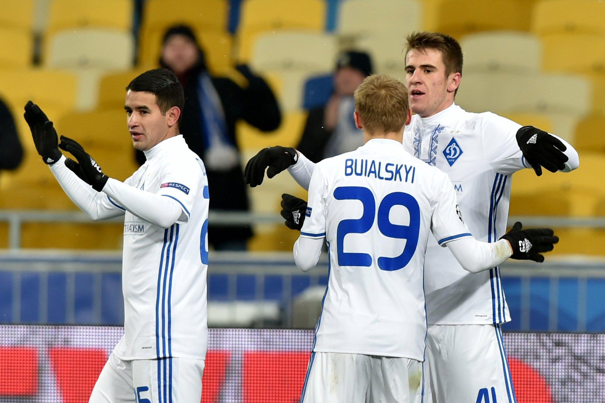 دينامو كييف يسجل أغرب هدف في جولة دوري الأبطال