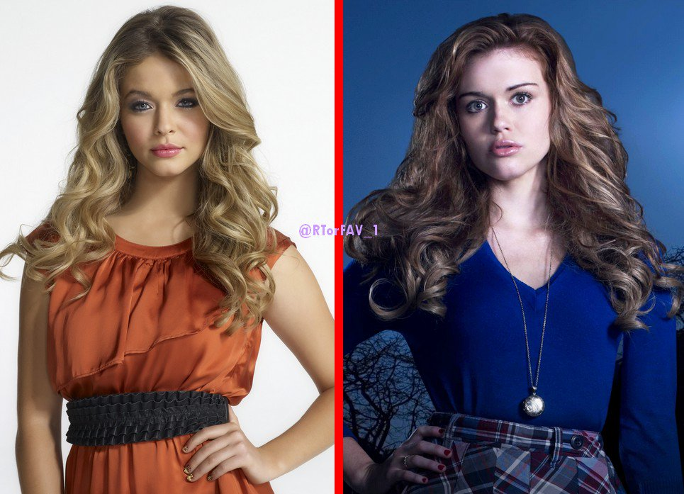 REQUESTED RT for Alison DiLaurentis LIKE for Lydia Martin