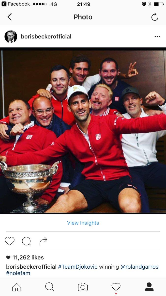 Thank U ! We had the time of our life ...#teamdjokovic https://t.co/n6uZRd4m1O