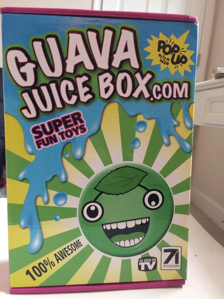 Gava Juice Toy : Guava juice box guavajuicebox twitter