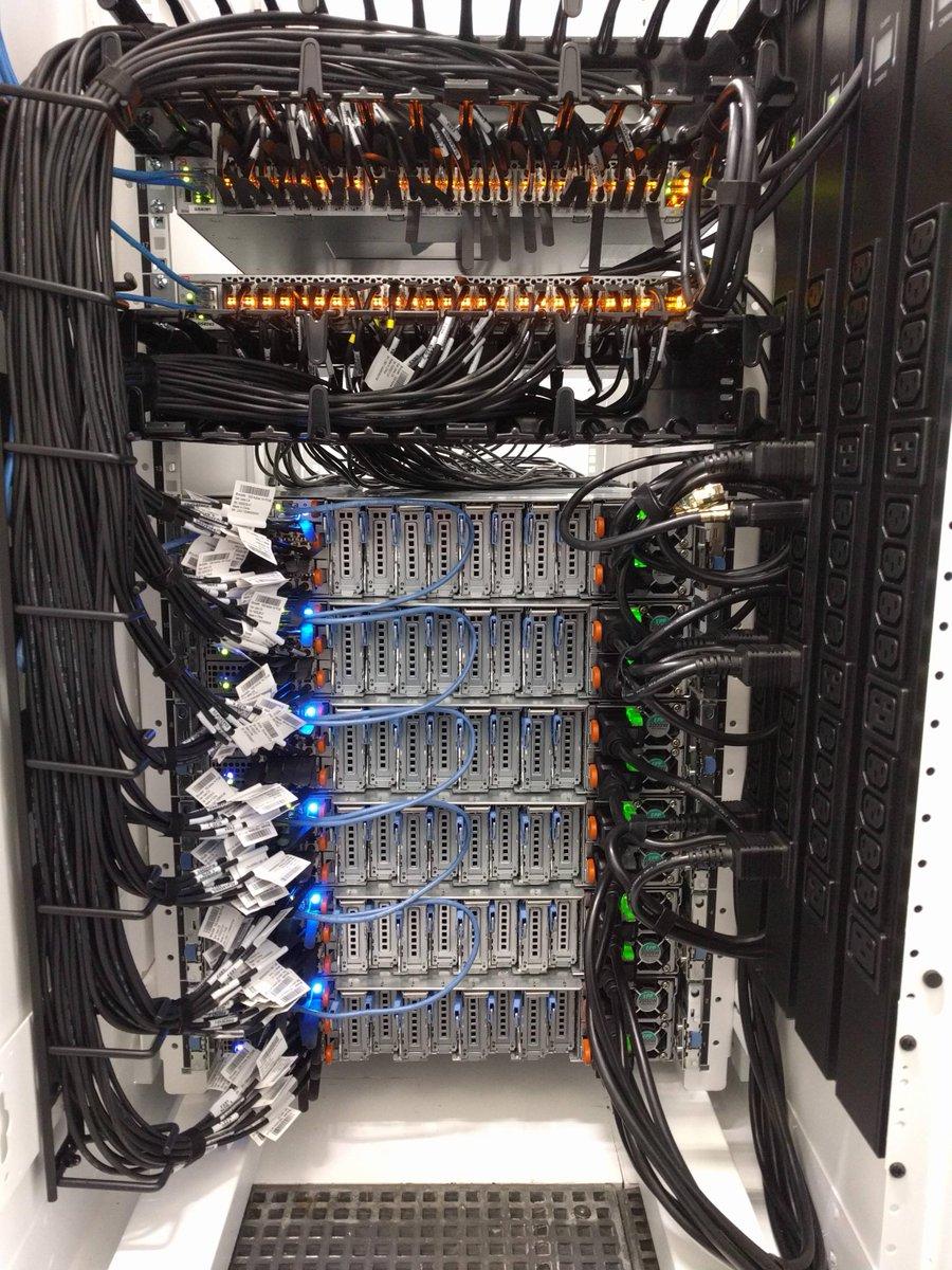 Fscom Fiberstore On Twitter Neat Data Center Backside Cabling Com Networking