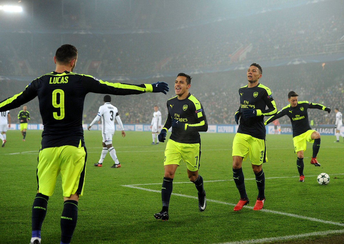 Video: Basel vs Arsenal