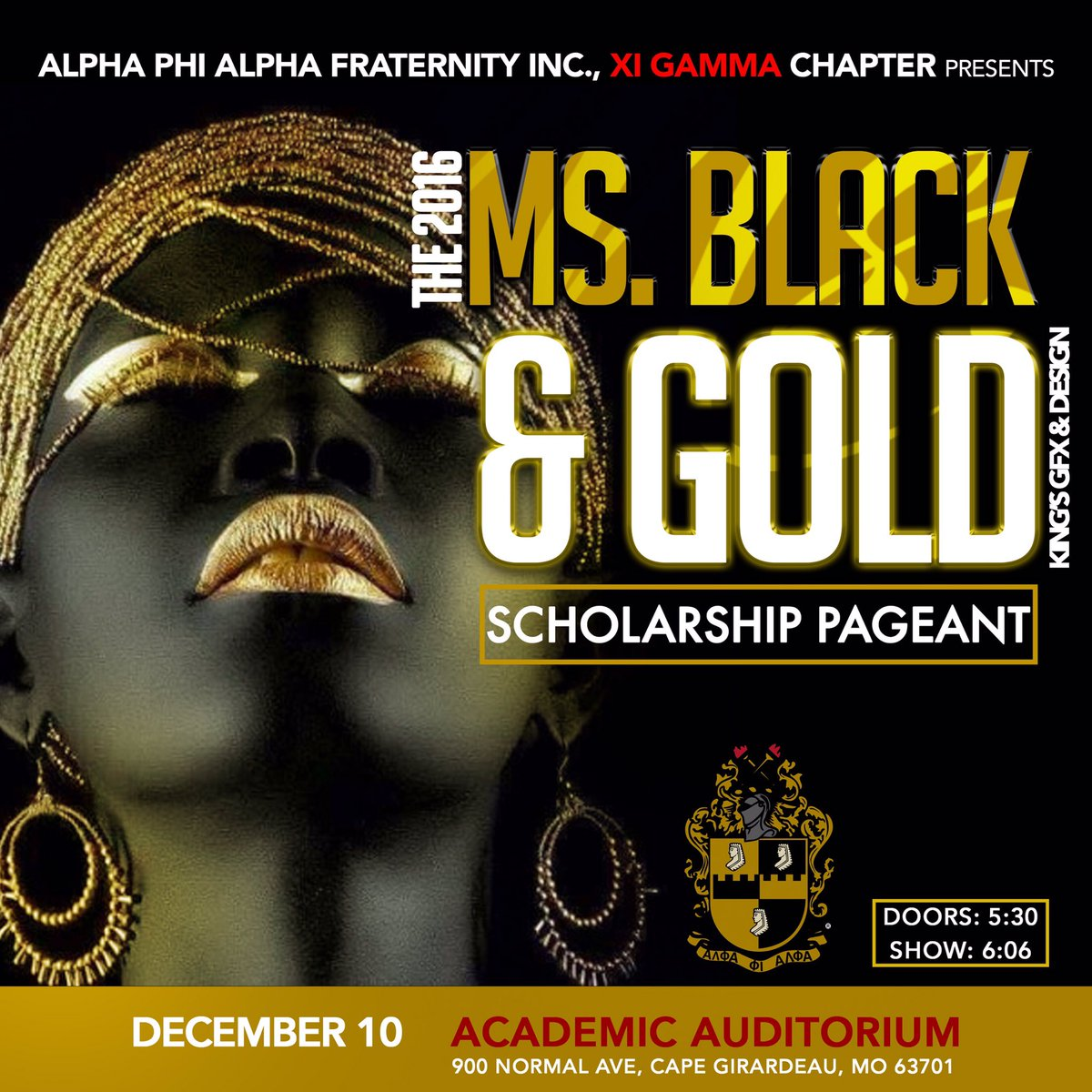 Support ΑΦΑ annual scholarship pageant #SEMO