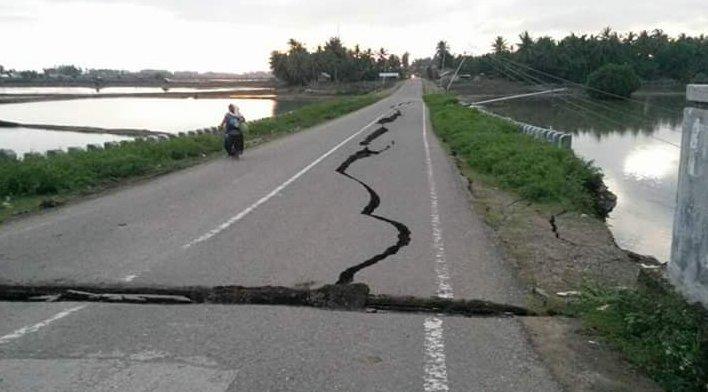 Foto Terremoto Sumatra Indonesia