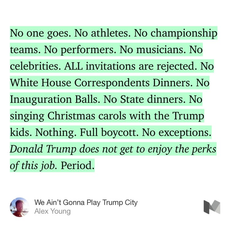 """""""Treat the Trump White House Like Sun City"""" Millennials, look up the reference. https://t.co/c0ZIn8oU2s https://t.co/3HSCHoOiWO"""