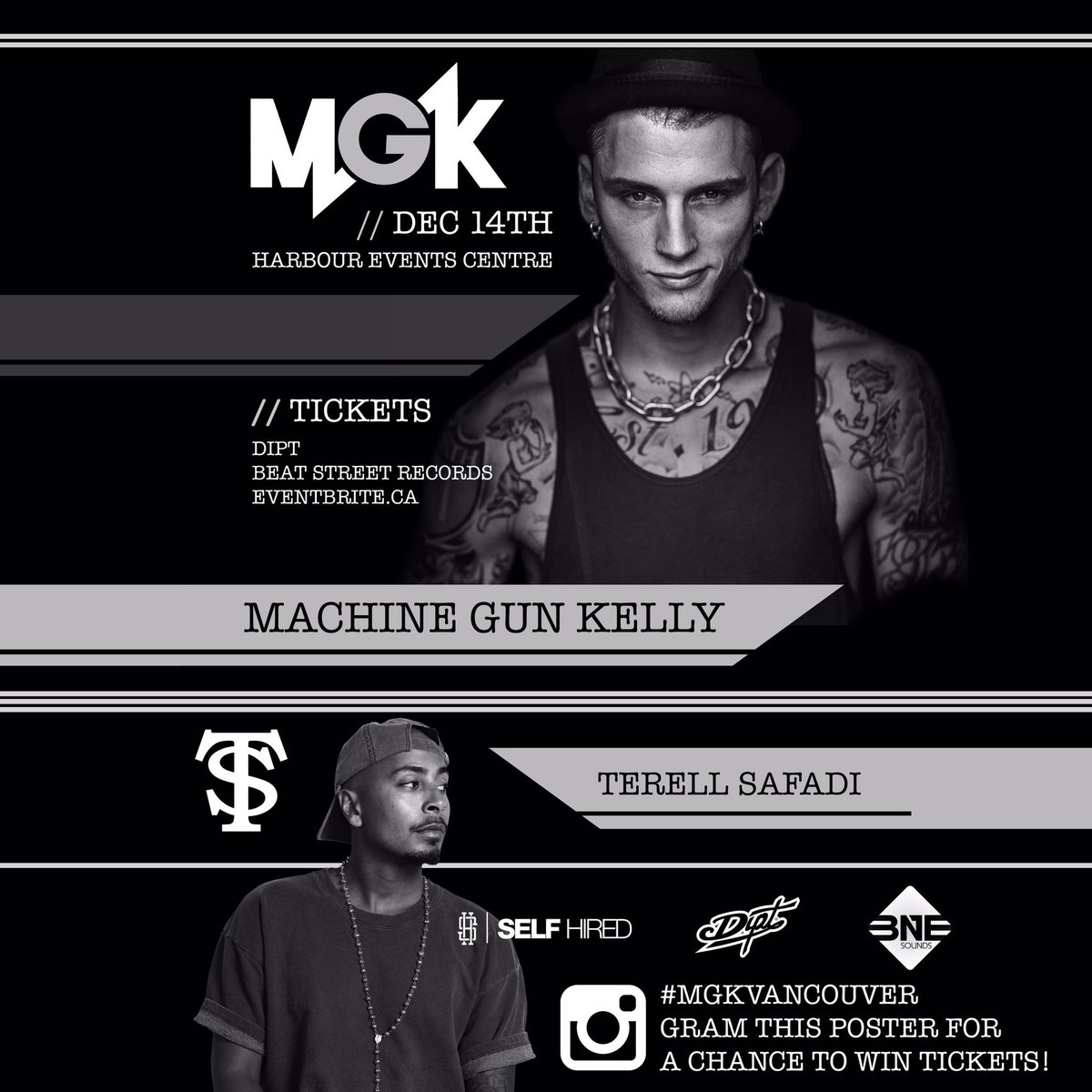 Contest: Retweet for a chance to win tickets to MGK in Vancouver Dec 14th w/ @TerellSafadi https://t.co/MBSNMrLsCh
