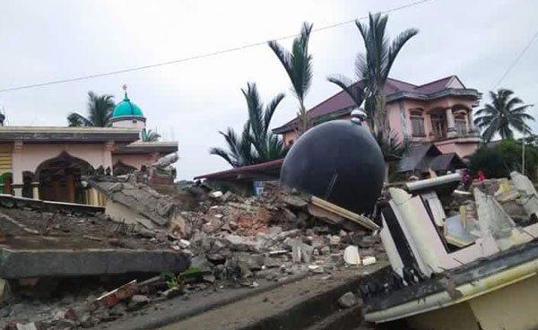 Foto Terremoto Oggi Sumatra Indonesia 6 dicembre 2016