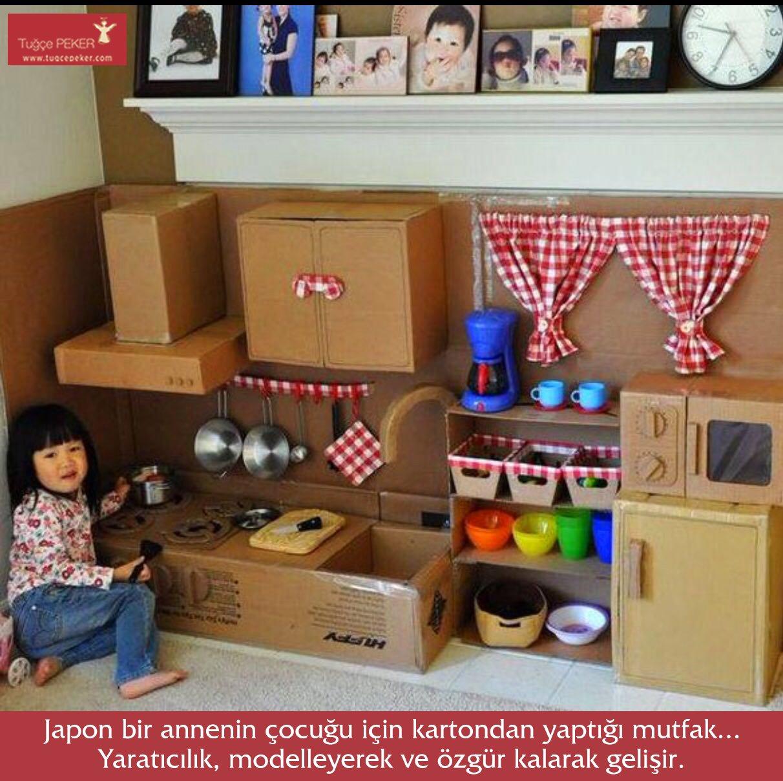 Мебель из картона - идеи для детей - сфера жизни.