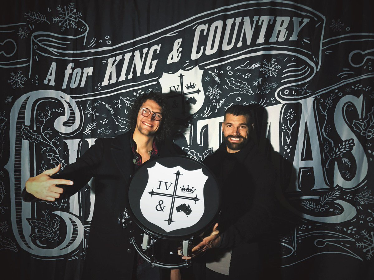 for king country on twitter on the 6th day of christmas your true love wanted to give to you this sling snare drum enter by signing up - For King And Country Christmas