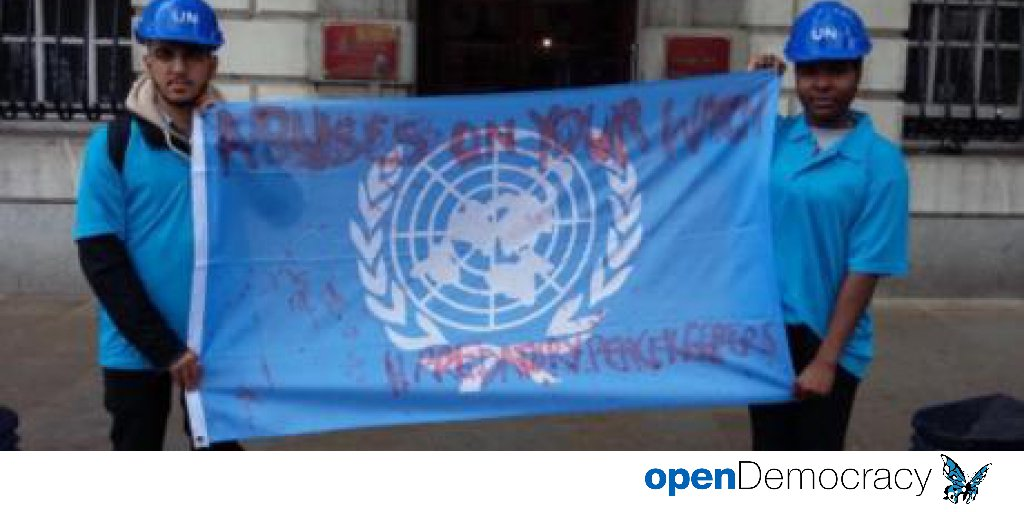 Since I gave you a phone it's not rape   openDemocracy https://t.co/v2ruJh37nH  #16Days #predatorypeacekeepers https://t.co/9265z5JQWR