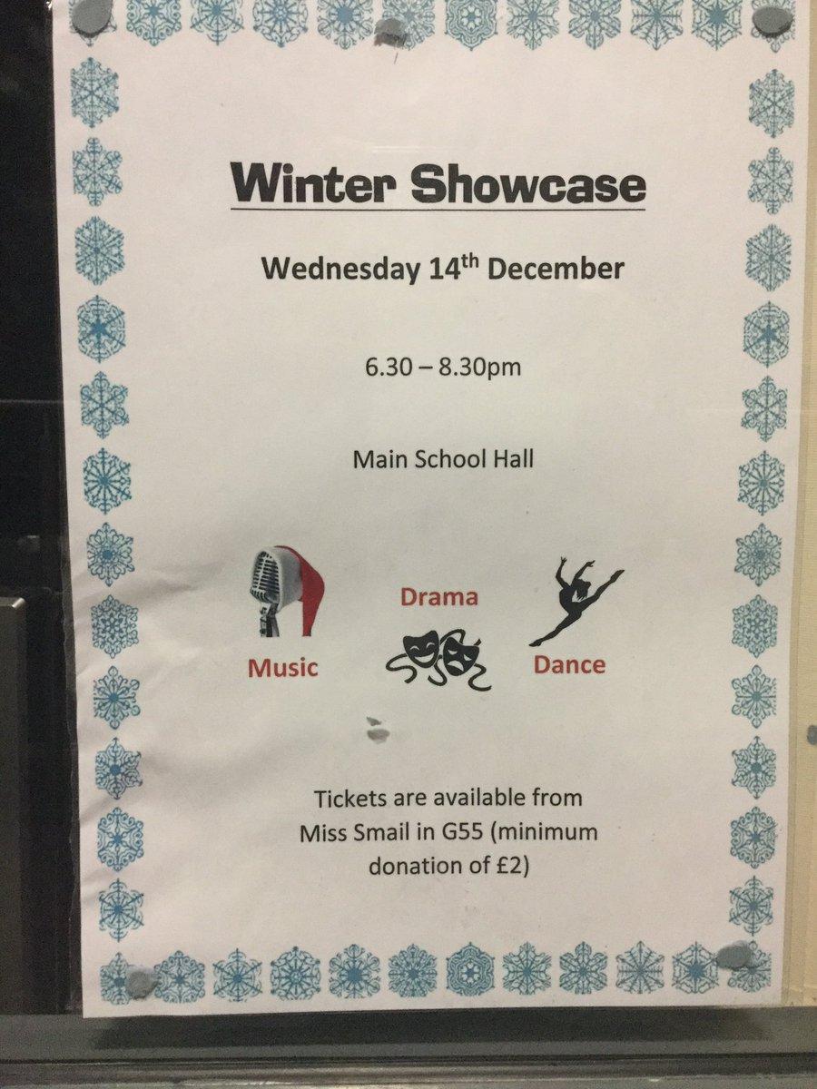 John Smeaton Academy Winter Showcase. 14.12.16