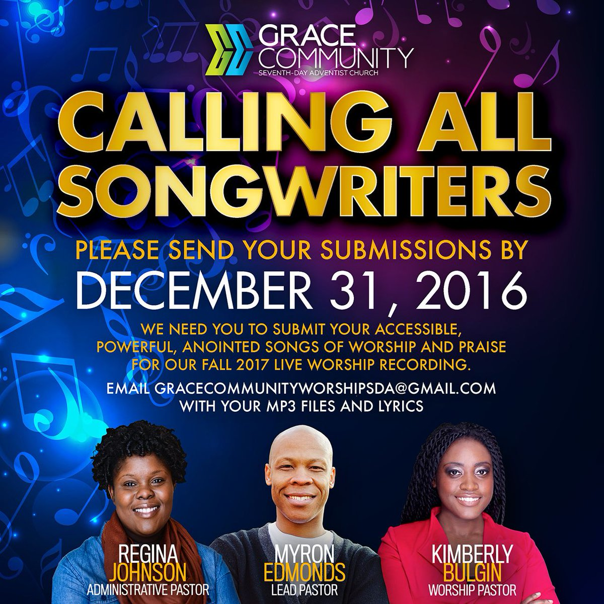 Grace Community Sda On Twitter Songwriters Send Ur Worship