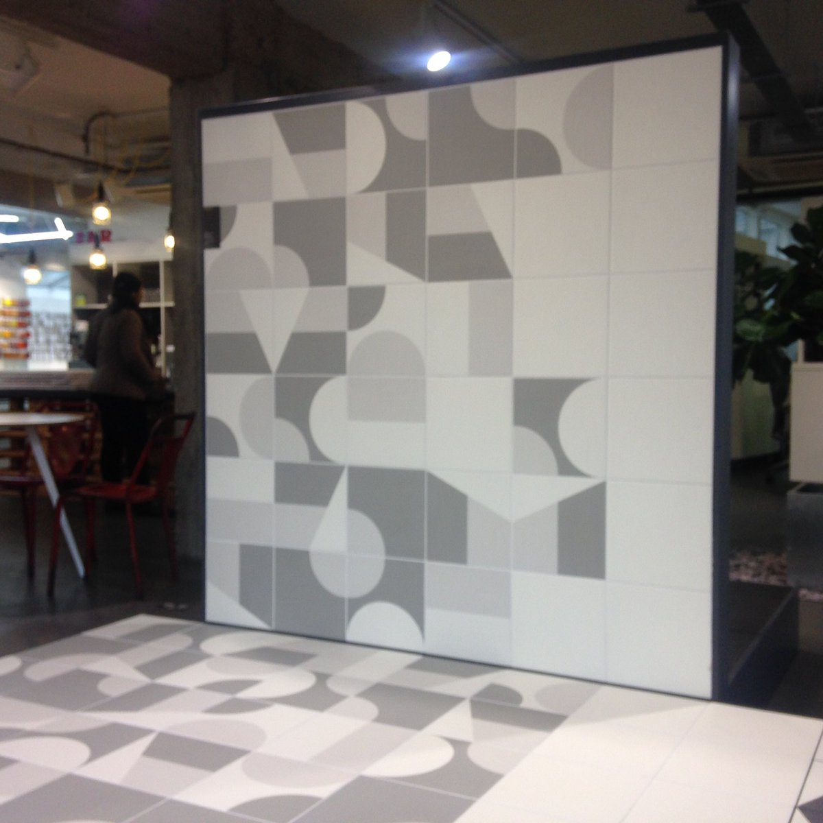 Domus on twitter our mutinaceramics patterned tile collection domus on twitter our mutinaceramics patterned tile collection puzzle is now installed in our clerkenwell showroom design by barberosgerby tiles dailygadgetfo Choice Image