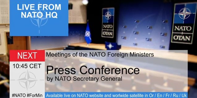 Press Conference by SG @jensstoltenberg after NATO-Ukraine Commission with @PavloKlimkin