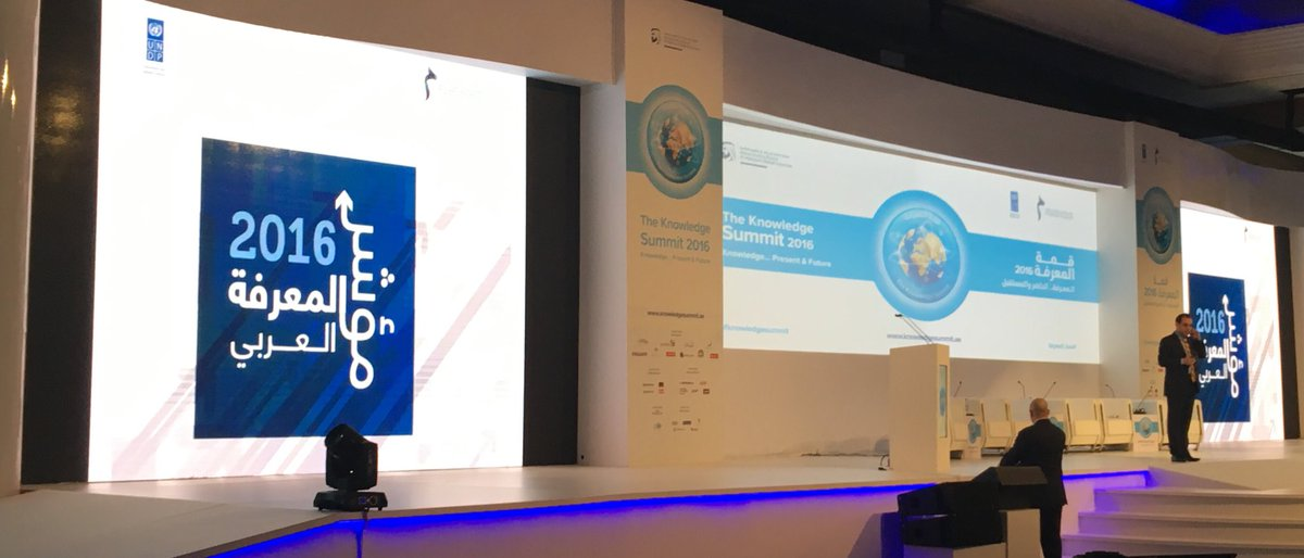 Dr. Hany Torky inviting core team authors of the #KnowledgeIndex 2016 to the stage. #KnowledgeSummit #knowledge4all <br>http://pic.twitter.com/mqgE3fD6cF